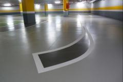 Garaje pitura en tonos de colores varios,jpg