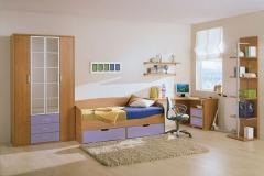 Dormitorio color blanco roto y marfil