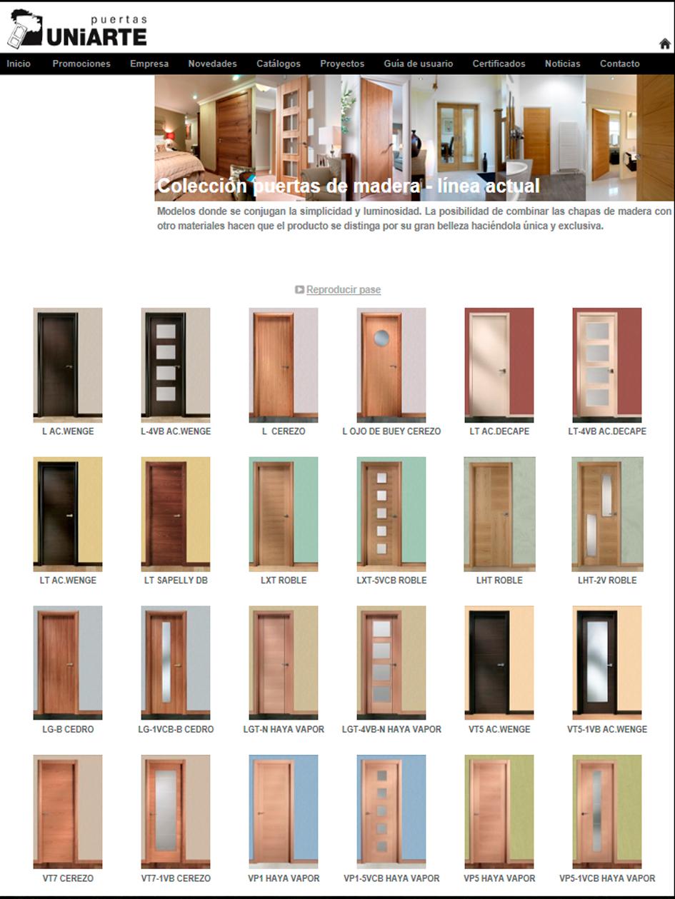 Arcolínea: acceso a URL de puertas Uniarte con foto pagina principal de UNIARTE