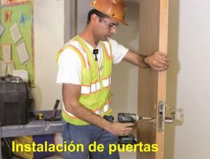 Arcolinea: instalación de puertas de paso