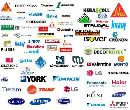 Arcolínea: Logotipos de proveedores varios de Arcolínea