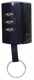 Emisor con frecuencia de 433 Mhz, 6 canales y tecnología Hopping Code con autoaprendizaje. Automatización